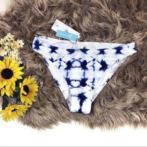 ☕️ 5/$25 Cupshe Tye Dye bikini bottom